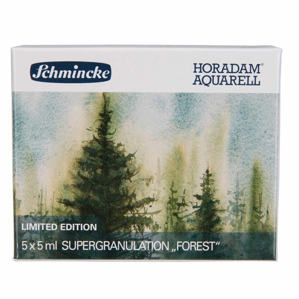 Schmincke HORADAM Supergranulierend Aquarell Wald 5x 5ml