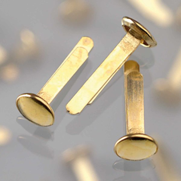 efco Musterbeutelklammern gold 17mm 20 Stück