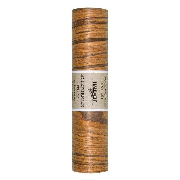 HALBACH Stoff Holzfurnier braun 20cm 1,25m