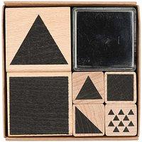 Paper Poetry Stempelset geometrische Symbole eckig 8x8cm