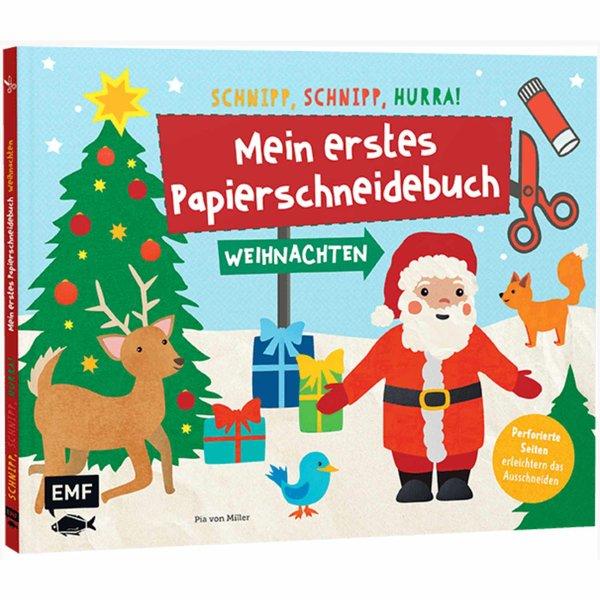 EMF Mein erstes Papierschneidebuch - Weihnachten
