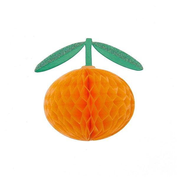 Paper Poetry Wabenpapiersticker Orangen 1 Blatt