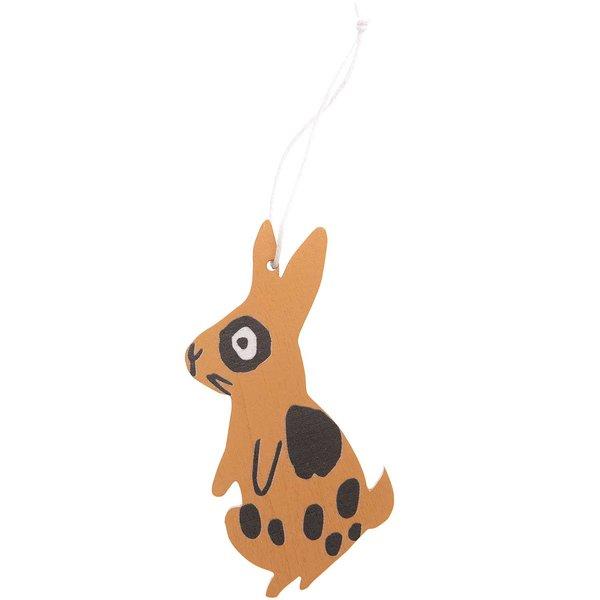Ohhh! Lovely! Holzhänger Bunny braun 1 Stück