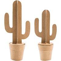 Rico Design Pappmaché Wüstenkaktus