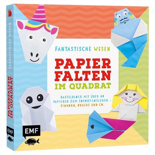 EMF Papierfalten im Quadrat: Fantastische Wesen