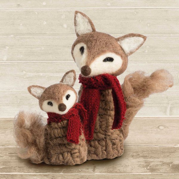 Ambiente Serviette Fox Puppets 33x33cm 20 Stück