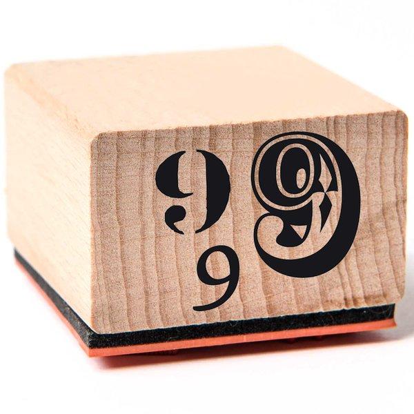 Rico Design Stempel 9 3,5x3,5cm