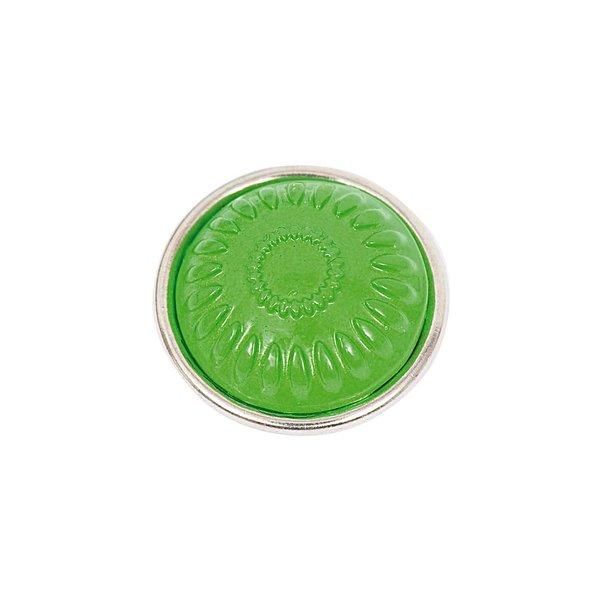 Rico Design Knopf Strahlen grün 14mm
