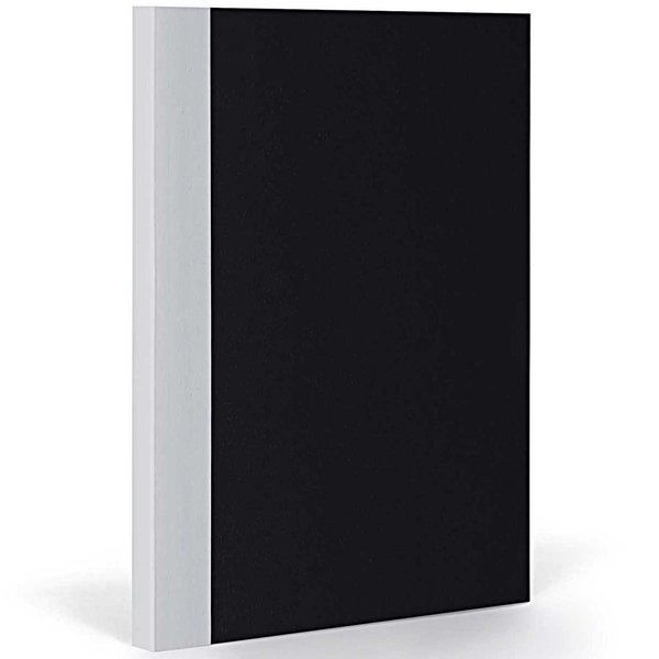 FANTASTICPAPER Notizbuch XL blanco black-coolgrey