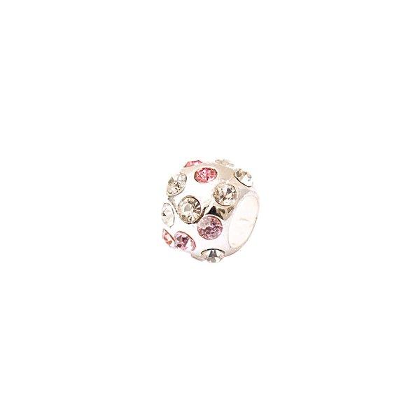 Rico Design Strasskugel rosa 0,9x0,8cm