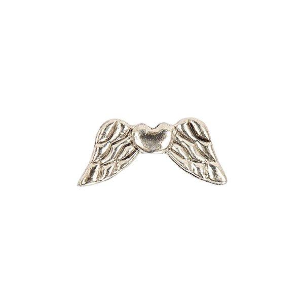Jewellery Made by Me Flügel mit Herz silber 19x9mm