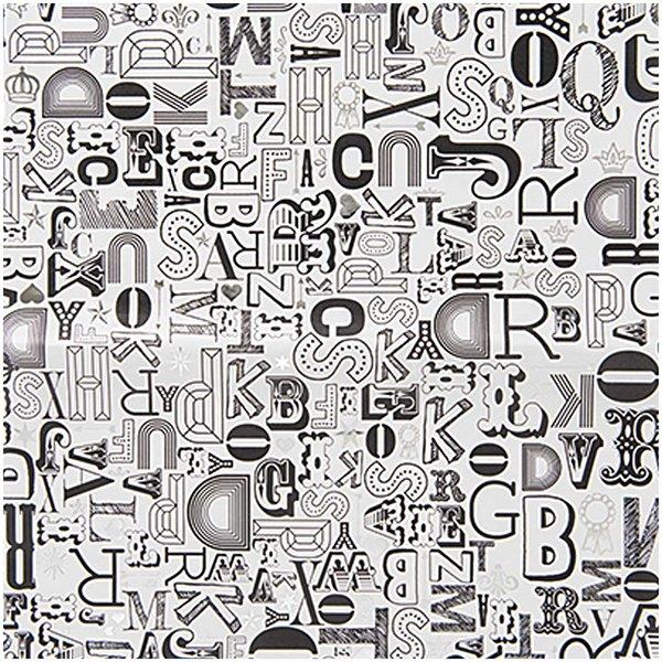 Rico Design Paper Patch Papier Buchstaben 30x42cm Hot Foil