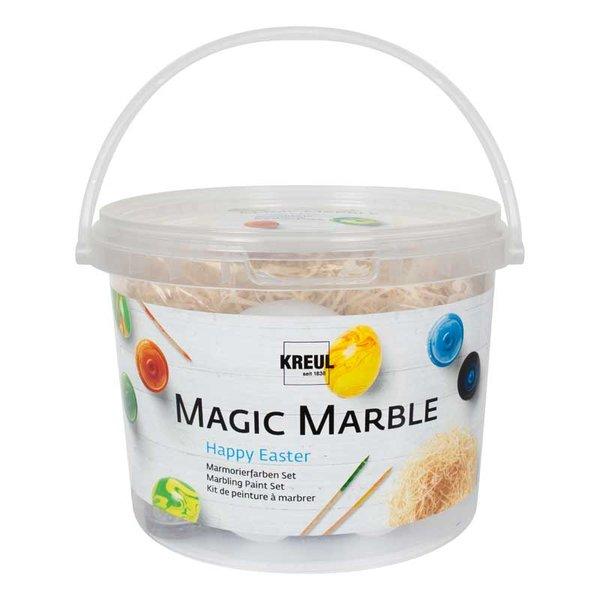KREUL Magic Marble Marmorierfarben Set Happy Easter