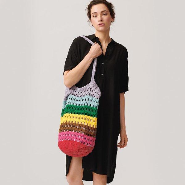 Häckelset Tasche Modell 2 aus Die Neue Masche Nr. 18