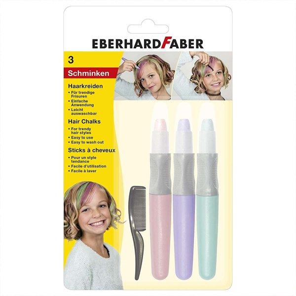 Eberhard Faber Haarkreide Set Pearl 73g