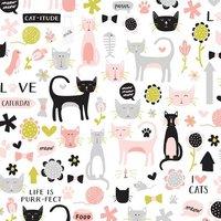 MyMindsEye Scrapbooking Bogen Black Cat 30,5x30,5cm