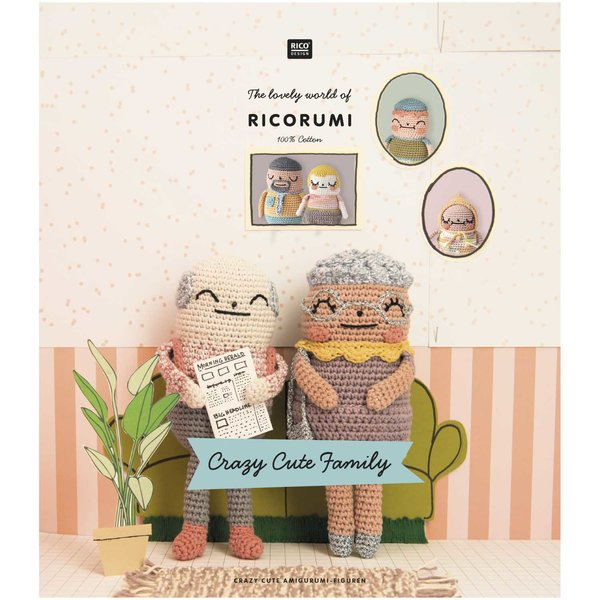 Rico Design Ricorumi Crazy Cute Family