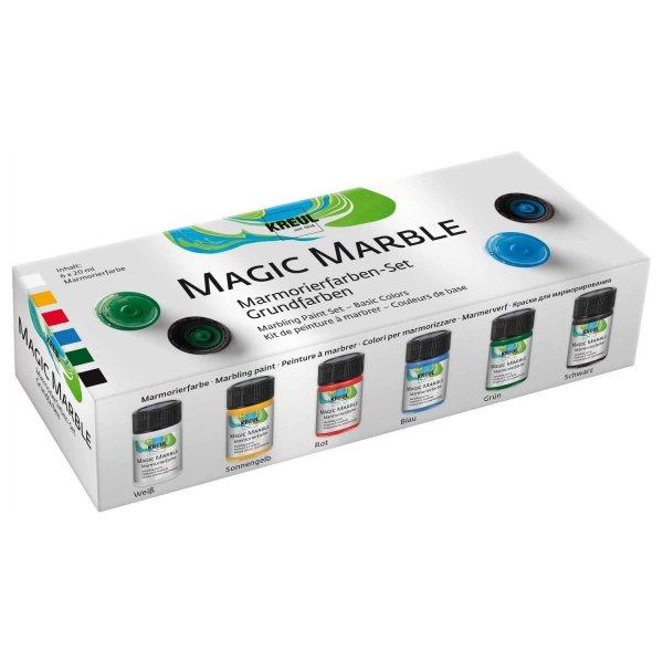 KREUL Magic Marble Marmorierfarben 6x20ml