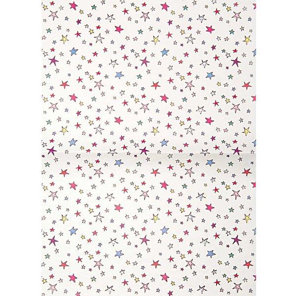 Rico Design Paper Patch Papier Sterne 30x42cm Hot Foil