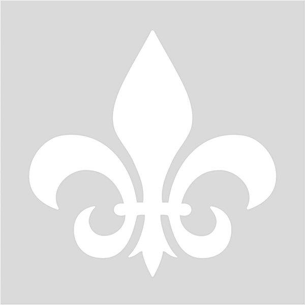 Rico Design Schablone Lilie 7,5x7,5cm selbstklebend