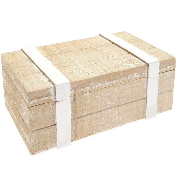 Ohhh! Lovely! Holzschatulle shabby chic 18x11,5x7,5cm