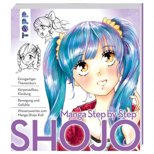 TOPP Manga Step by Step Shojo