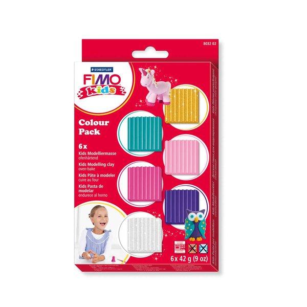 Staedtler FIMO kids Colour Pack girlie 6x42g