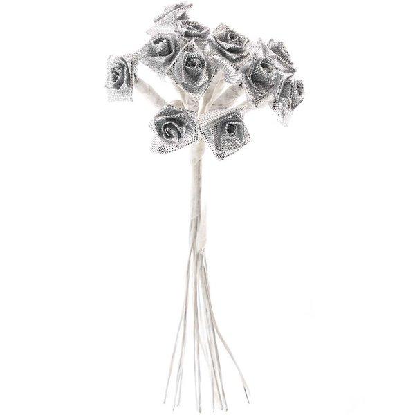 Dior Röschen Hochzeit silber 12 Stück