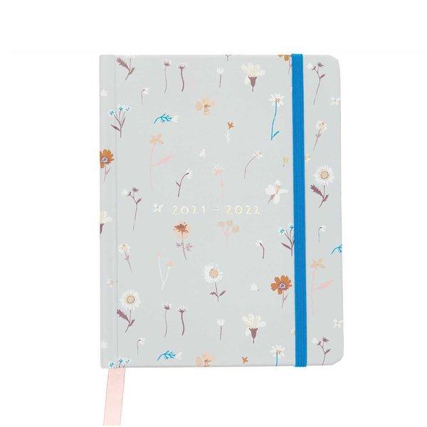 Paper Poetry Agenda 2021-2022 Wildblumen 2,5x14x18cm
