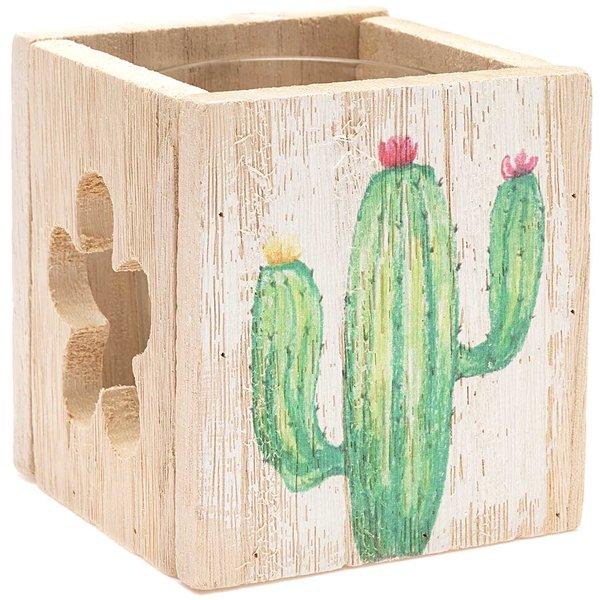 Windlicht Kaktus 9,5x9x9cm