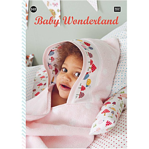 Rico Design Stickbuch Baby Wonderland Nr.149