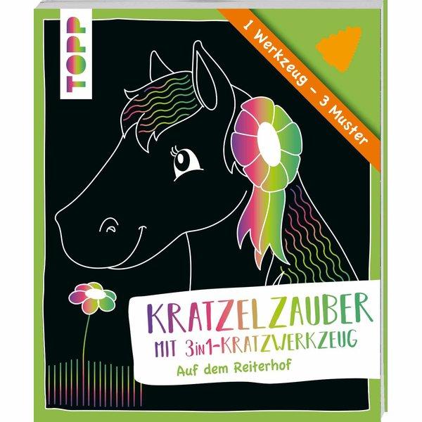 TOPP Kratzelzauber mit 3in1-Werkzeug - Reiterhof