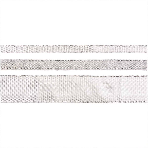 Paper Poetry Metallicband silber 3m