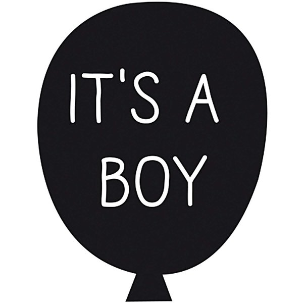 Rico Design Stempel It´s a boy 4x4cm