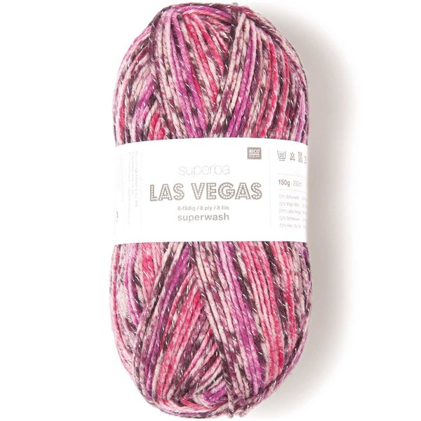 Rico Design Superba Las Vegas 8fädig 150g 293m
