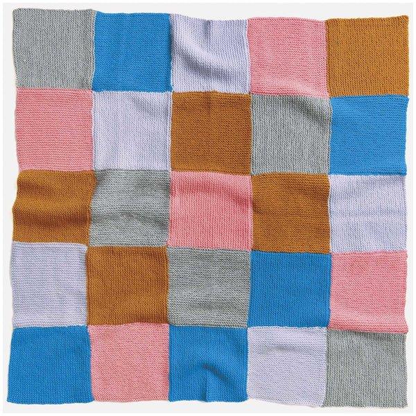 Strickset Decke Modell 15 aus Baby Nr. 31