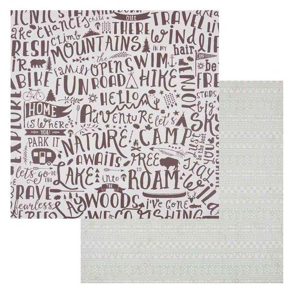 MyMindsEye Scrapbooking Bogen Free 30,5x30,5cm