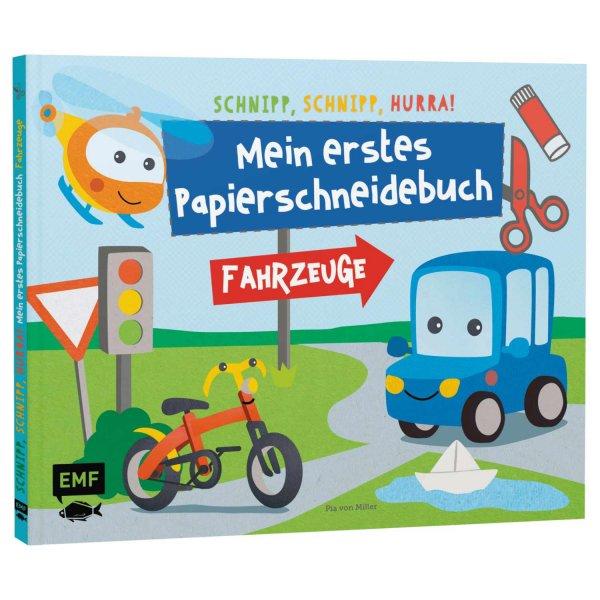 EMF Mein erstes Papierschneidebuch - Fahrzeuge