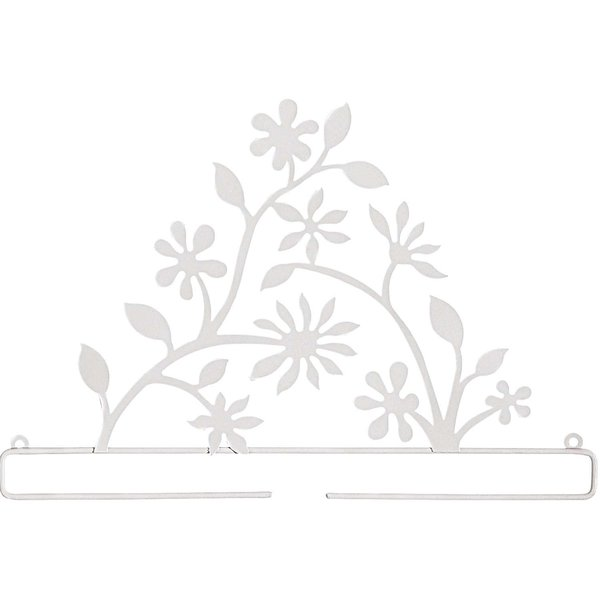 Rico Design Dekobügel Blütenzweig weiß 31cm