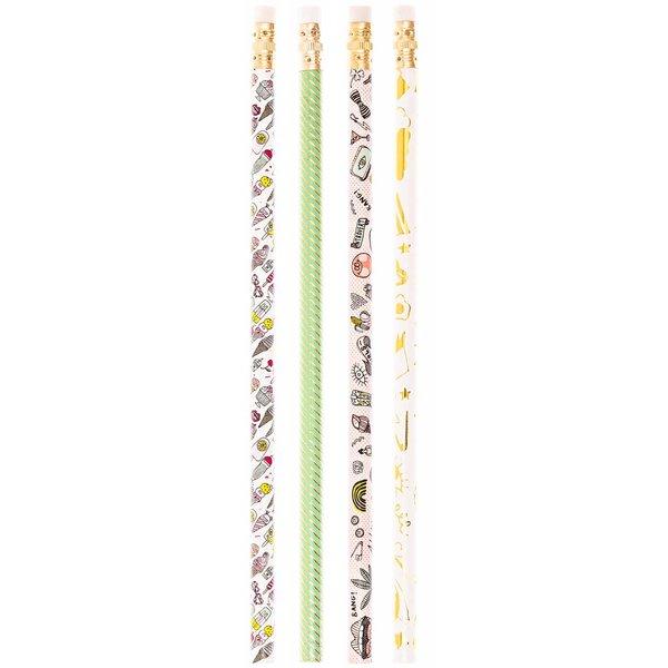 Paper Poetry Bleistifte 4er Set