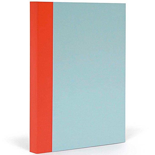 FANTASTICPAPER Notizbuch XL blanco skyblue-warmred