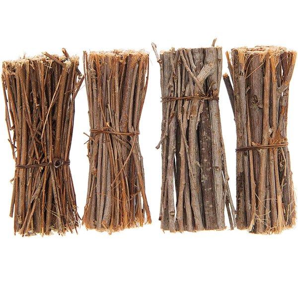 Dekomix Zweige gebündelt natur 7,5cm 4 Stück