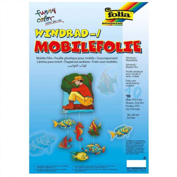 folia Windradfolie 0,2mm 35x50cm 10 Stück