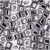 Rico Design itoshii cube transparent Einzug schwarz 3x3mm 7g