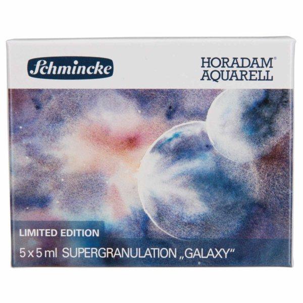 Schmincke HORADAM Supergranulierend Aquarell Galaxy 5x 5ml