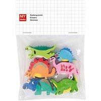 Rico Design Radiergummis Dinosaurier 6 Stück