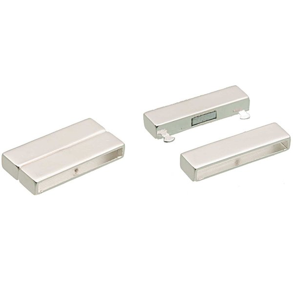 Rico Design Magnetverschluss silber 39,6x20mm