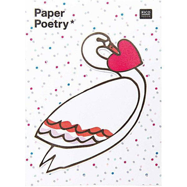 Paper Poetry Sticky Notes Schwan 50 Blatt