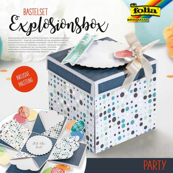 folia Explosionsbox Bastelset Party