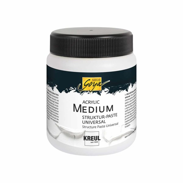KREUL Solo Goya Acrylic Medium Struktur-Paste Universal 250ml